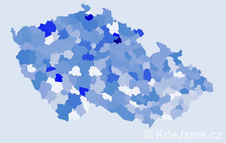 Jméno: 'Leontýna', počet výskytů 1042 v celé ČR