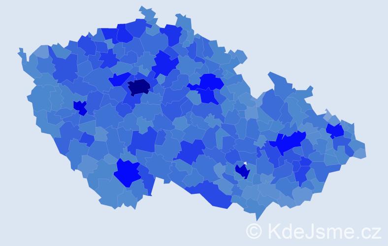Jméno: 'Alena', počet výskytů 109081 v celé ČR