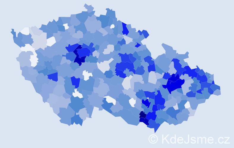 Jméno: 'Stela', počet výskytů 1473 v celé ČR