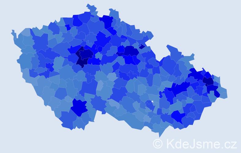 Jméno: 'Adéla', počet výskytů 37021 v celé ČR