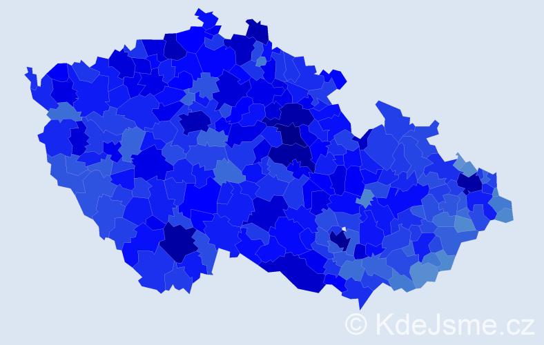 Jméno: 'Milan', počet výskytů 110560 v celé ČR