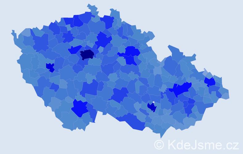 Jméno: 'Alena', počet výskytů 109853 v celé ČR
