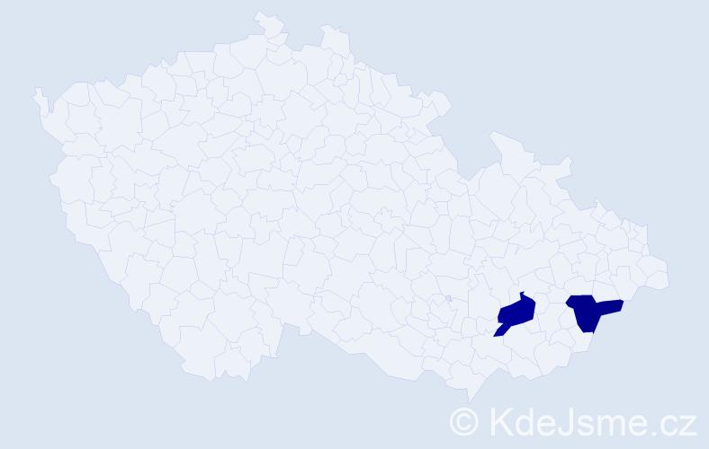 Jméno: 'Štěpán Marek', počet výskytů 2 v celé ČR