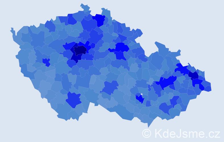 Jméno: 'Jakub', počet výskytů 96801 v celé ČR