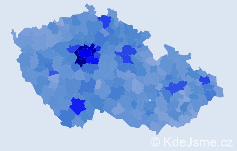 Jméno: 'Matyáš', počet výskytů 22954 v celé ČR