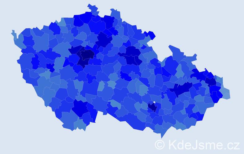 Jméno: 'Eliška', počet výskytů 51549 v celé ČR
