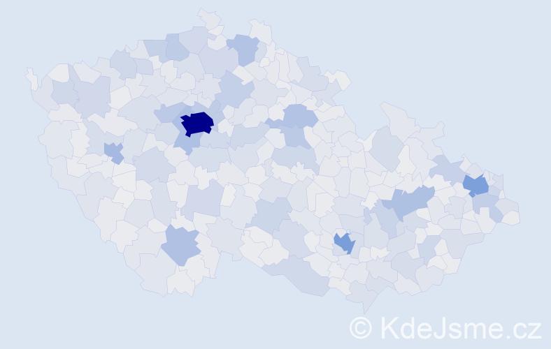 Jméno: 'Lucie', počet výskytů 111936 v celé ČR