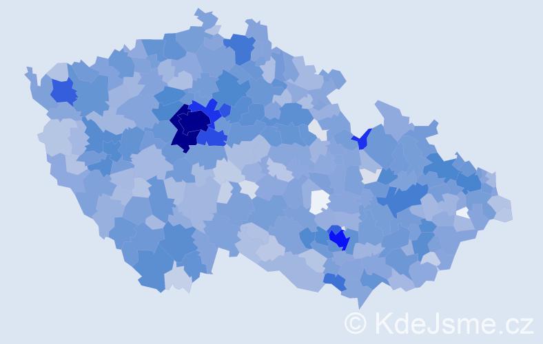 Jméno: 'Emma', počet výskytů 3783 v celé ČR