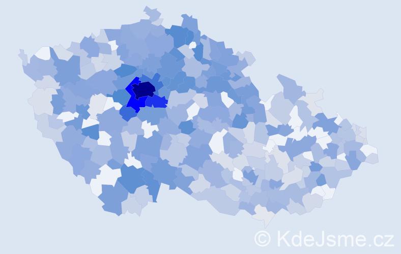 Jméno: 'Josefína', počet výskytů 1380 v celé ČR