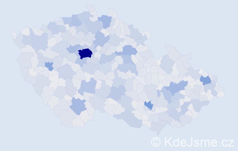 Jméno: 'Jaroslav', počet výskytů 190468 v celé ČR