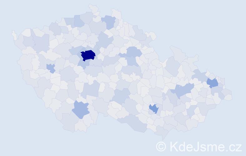 Jméno: 'Jan', počet výskytů 293938 v celé ČR