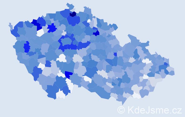 Jméno: 'Leontýna', počet výskytů 1576 v celé ČR