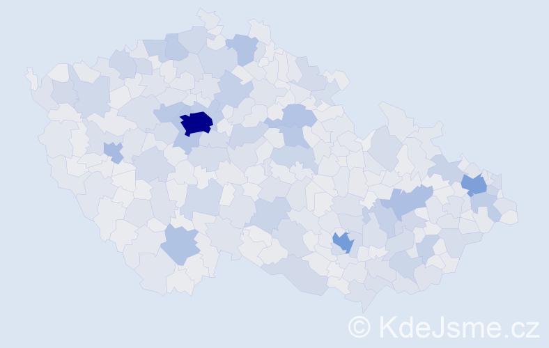 Jméno: 'Martin', počet výskytů 188380 v celé ČR