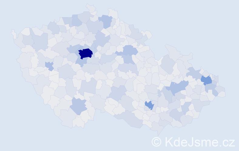 Jméno: 'Jakub', počet výskytů 93976 v celé ČR