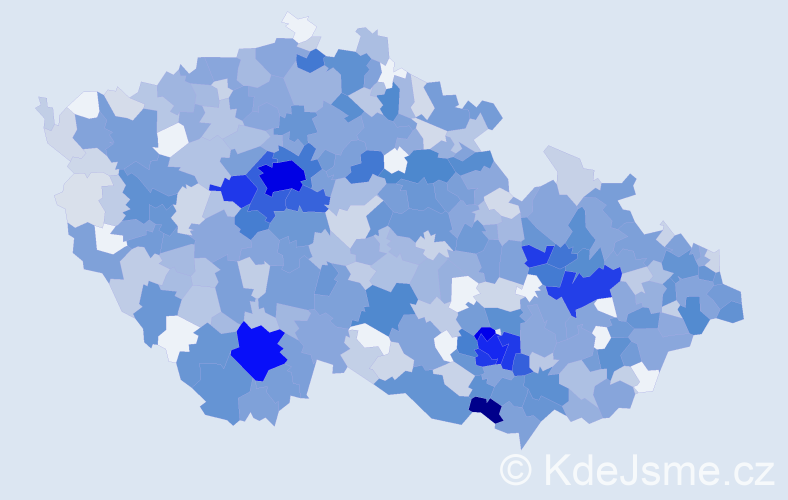 Jméno: 'Stella', počet výskytů 1685 v celé ČR