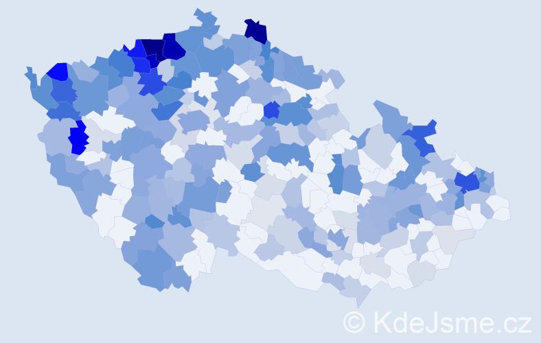 Jméno: 'Gejza', počet výskytů 715 v celé ČR