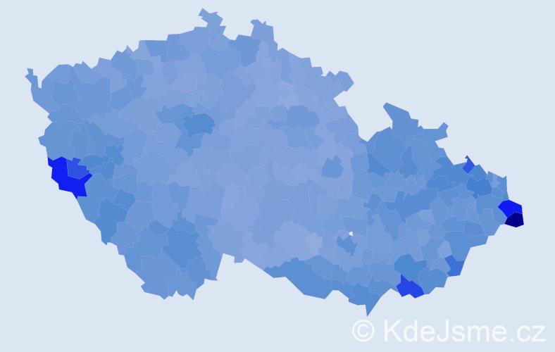 Jméno: 'Anna', počet výskytů 137256 v celé ČR