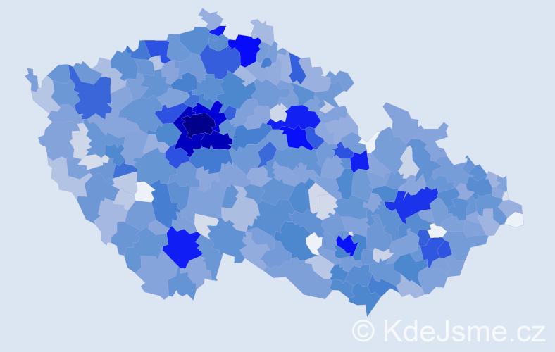 Jméno: 'Ella', počet výskytů 3148 v celé ČR