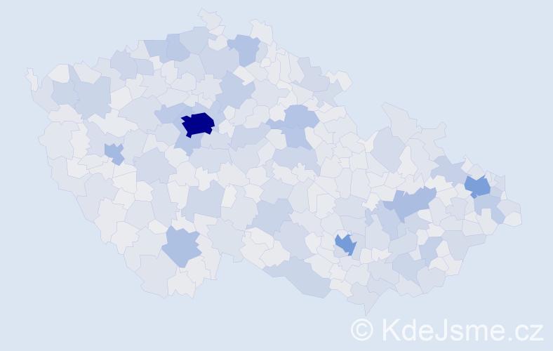 Jméno: 'Petr', počet výskytů 272134 v celé ČR