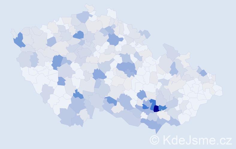 Příjmení: 'Florián', počet výskytů 941 v celé ČR