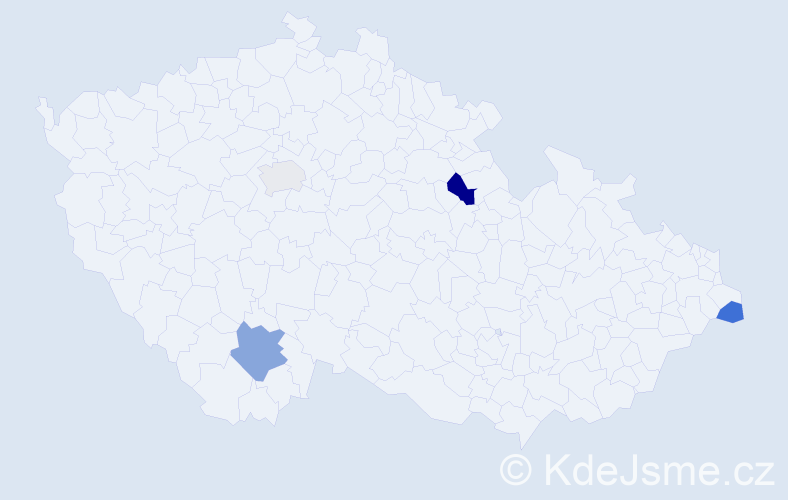 Příjmení: 'Füsiová', počet výskytů 6 v celé ČR