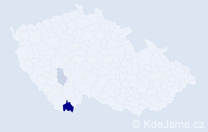 Příjmení: 'Flecks', počet výskytů 6 v celé ČR