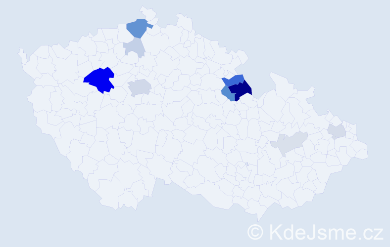 Příjmení: 'Barillová', počet výskytů 35 v celé ČR