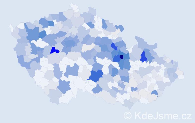 Příjmení: 'Horská', počet výskytů 1044 v celé ČR
