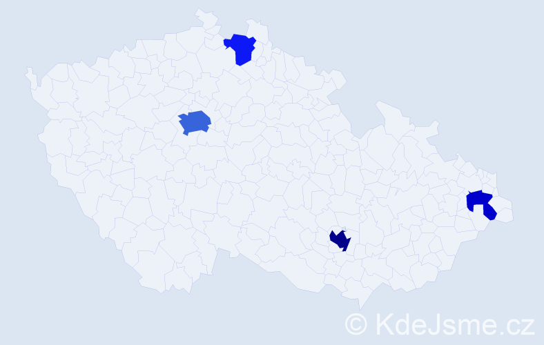 Příjmení: 'Halberstadt', počet výskytů 10 v celé ČR
