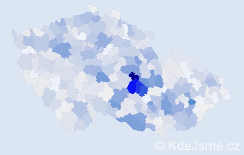 Příjmení: 'Gregor', počet výskytů 2683 v celé ČR