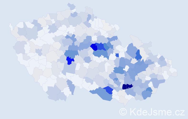 Příjmení: 'Kohoutková', počet výskytů 1526 v celé ČR