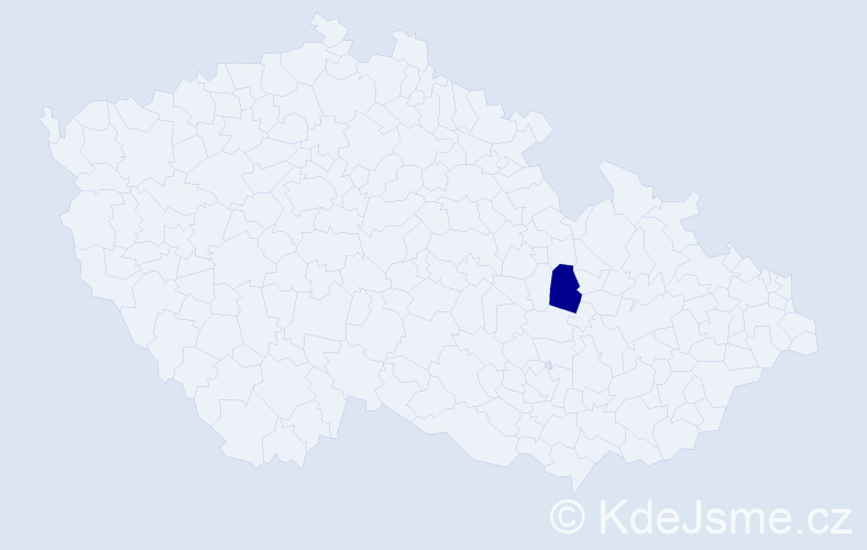 Příjmení: 'Bašićová', počet výskytů 2 v celé ČR