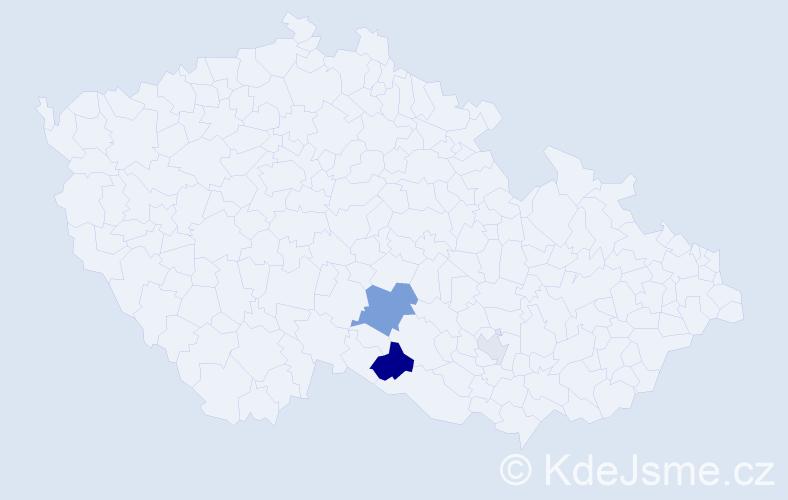 Příjmení: 'Gőtthans', počet výskytů 7 v celé ČR
