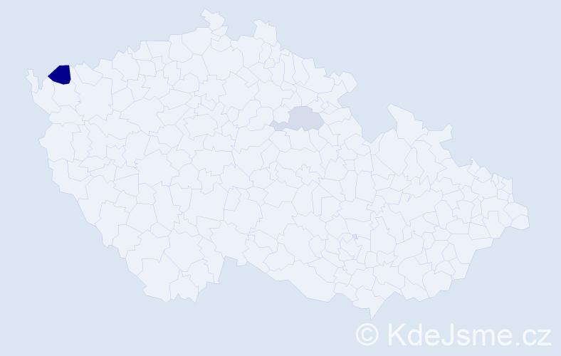 Příjmení: 'Cichocki', počet výskytů 10 v celé ČR