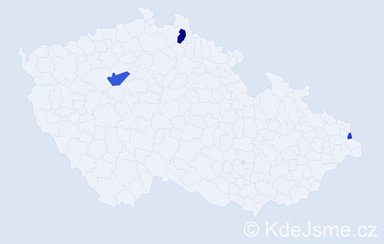 Příjmení: 'Batorková', počet výskytů 7 v celé ČR