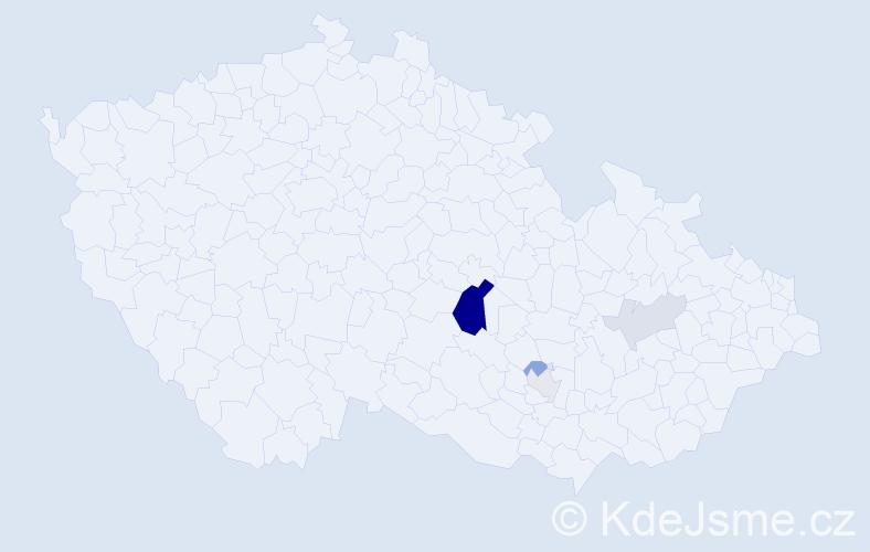 Příjmení: 'Inwald', počet výskytů 12 v celé ČR