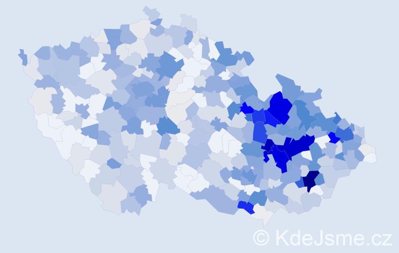 Příjmení: 'Langer', počet výskytů 2132 v celé ČR