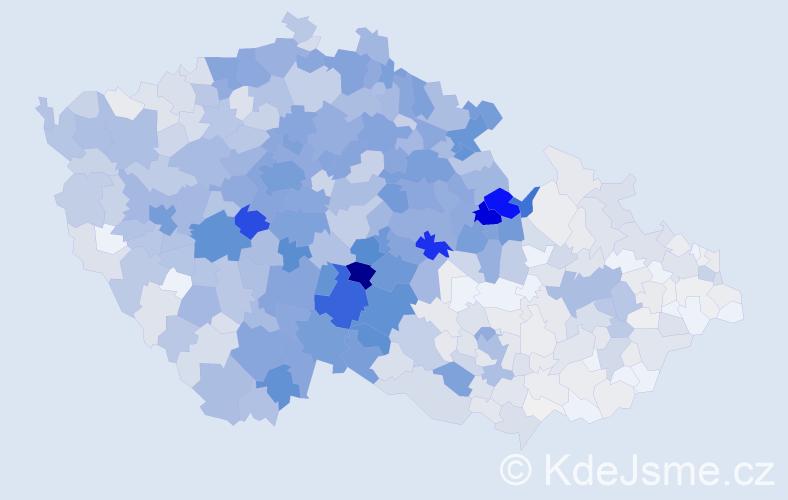 Příjmení: 'Vacek', počet výskytů 4753 v celé ČR