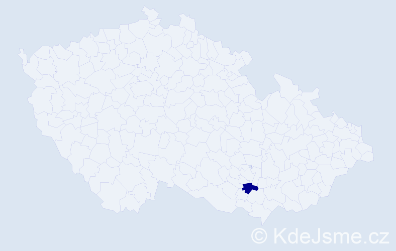 Příjmení: 'Edesová', počet výskytů 3 v celé ČR