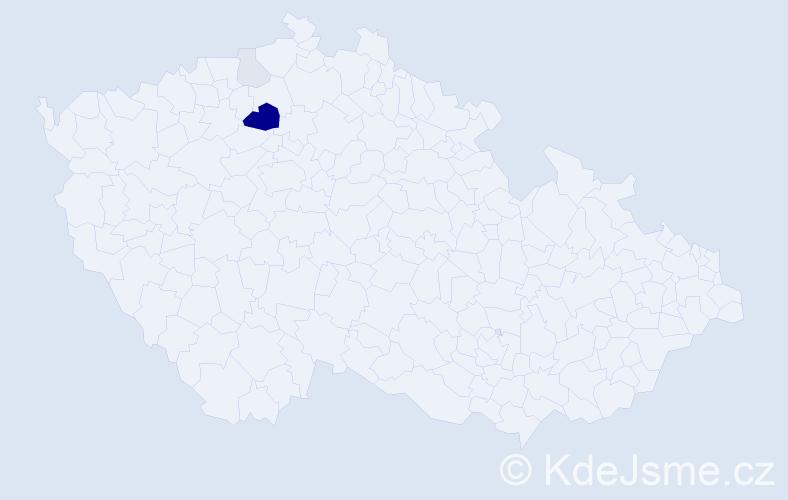 Příjmení: 'Gipfl', počet výskytů 11 v celé ČR