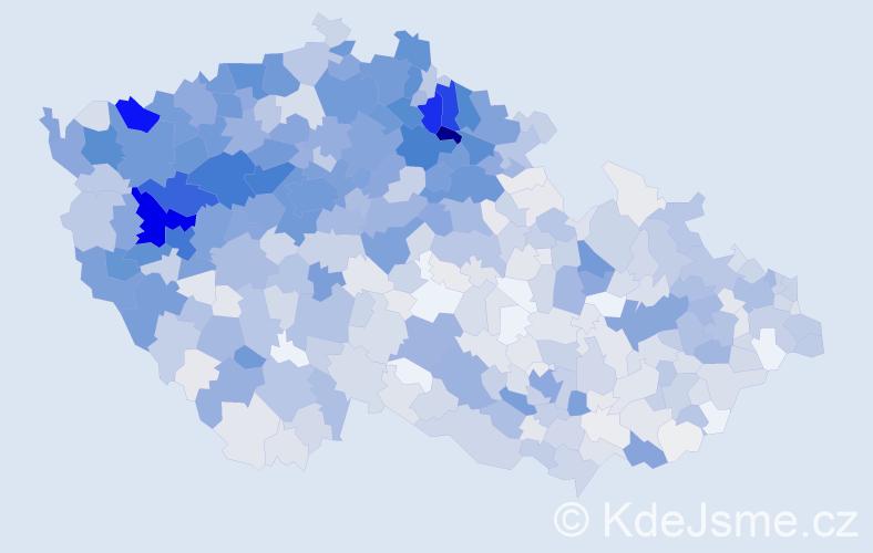 Příjmení: 'Krausová', počet výskytů 4471 v celé ČR