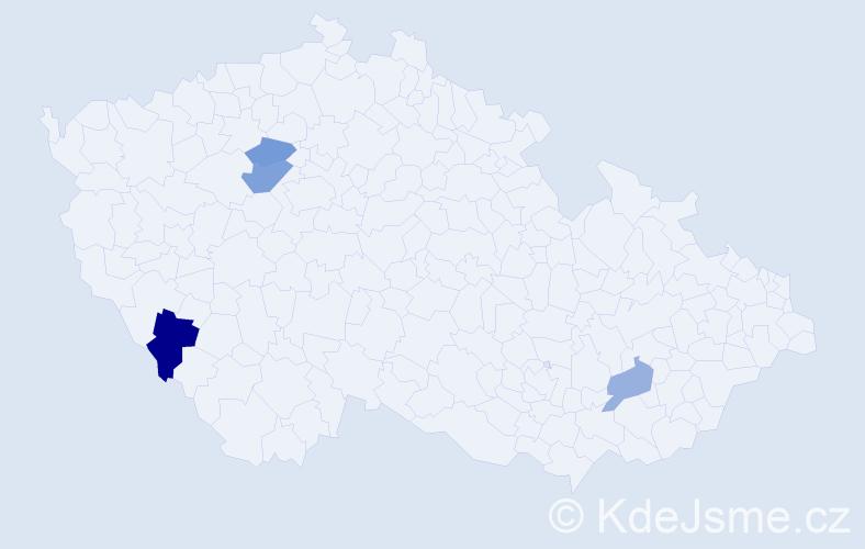 Příjmení: 'Katreňák', počet výskytů 12 v celé ČR