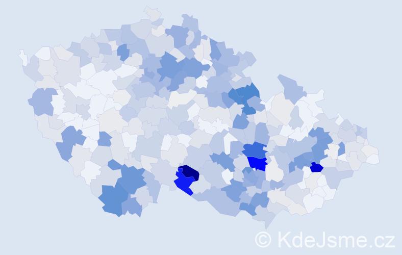 Příjmení: 'Jakubcová', počet výskytů 1558 v celé ČR