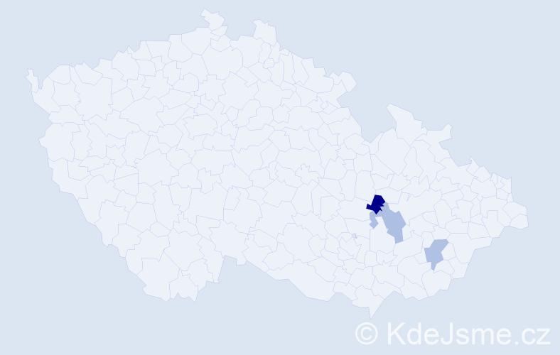 Příjmení: 'Enkhbaatar', počet výskytů 3 v celé ČR