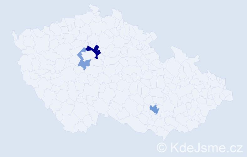Příjmení: 'Iwaniszynová', počet výskytů 7 v celé ČR
