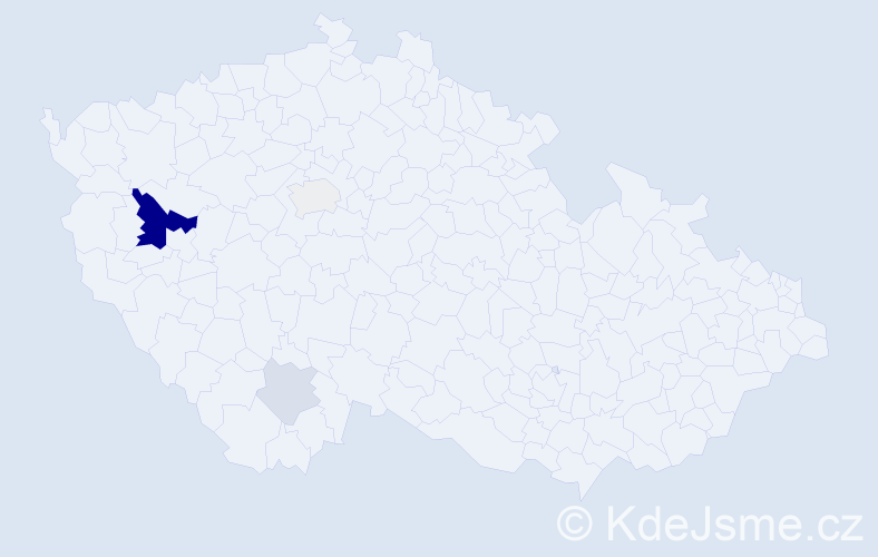Příjmení: 'Landauová', počet výskytů 12 v celé ČR