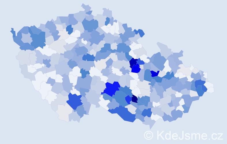 Příjmení: 'Eliáš', počet výskytů 1816 v celé ČR