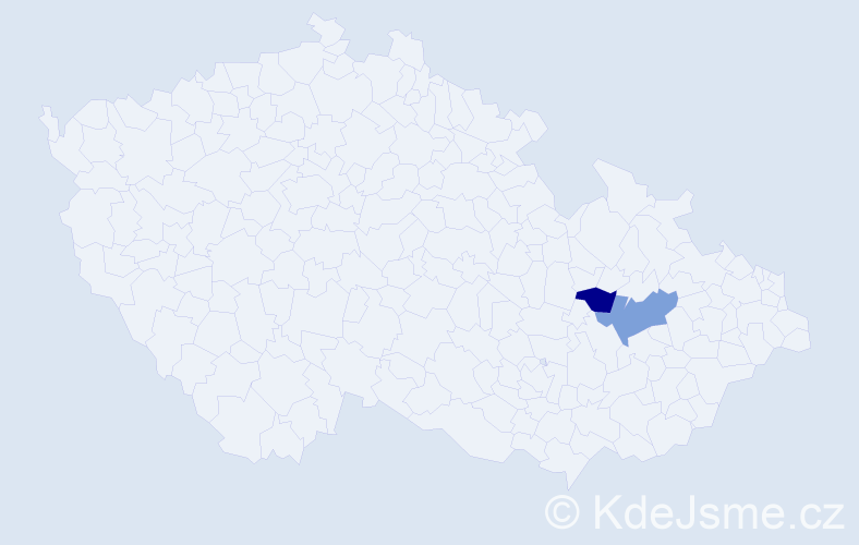 Příjmení: 'Ficht', počet výskytů 7 v celé ČR