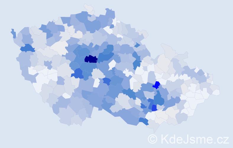 Příjmení: 'Bartáková', počet výskytů 2145 v celé ČR