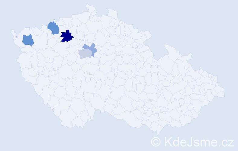 Příjmení: 'Drástová', počet výskytů 12 v celé ČR